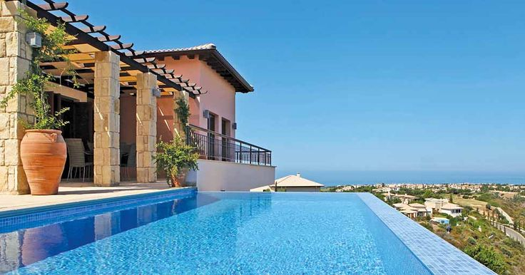 Guest can bathe under the hot Mediterranean sun, high up on the hillside and look out onto the stunning Cypriot landscape and crystal sea.