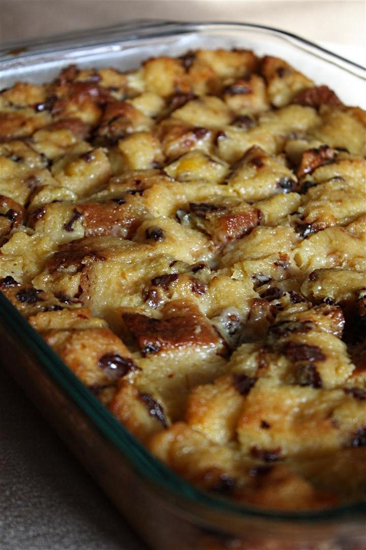 Panettone bread pudding. Similar To the recipe I created. I add a small bit of caramel extract as it gives a tiny bit of a sweeter, buttery taste and serve it with caramel whip cream or a rum caramel sauce for us big people! its amazing!