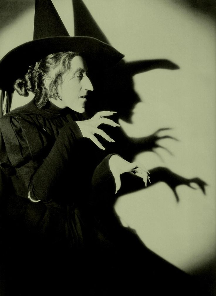 Margaret Hamilton...the quintessential witch of all time.