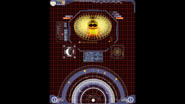 Avengers Hologram Screen