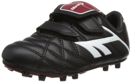 buy now   £22.00    Hi-Tec LEAGUE EOS MOULDED-VEL B/w/r. Leather Hi-Tec Football Boots. Screw-In Studs Compatible with football and rugby. Velcro Fastening. Printed Hi -Tec Logo.Rubber/eva multi-stud sole for hard ground