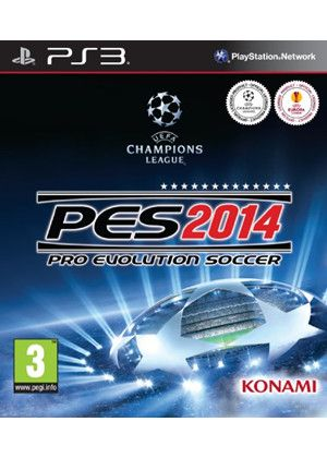 PES 2014 for the PS3 http://www.pricerunner.co.uk/pli/624-2897994/PlayStation-3-Games/Pro-Evolution-Soccer-2014-Compare-Prices