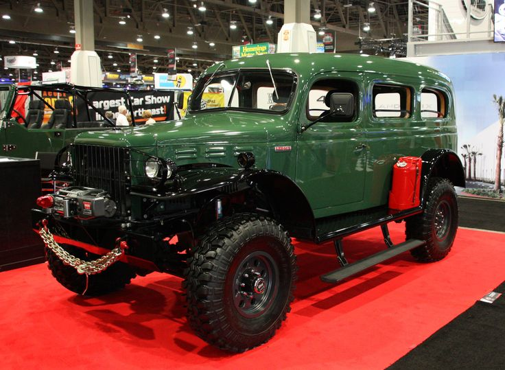 Dodge Power Wagon Carryall WC-53 | 1950 to 1959 | Pinterest | Cummins, Dodge and Dodge power wagon