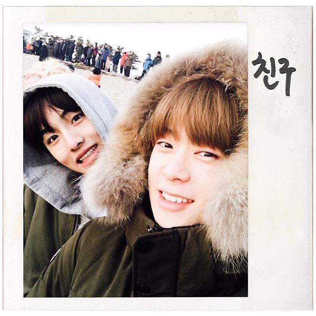 새해 되고나서 뭐했어요? 저는 아시겠지만 멤버들이랑 해돋이 보러가서 소원 빌었어요☀️🙏여러분들 2017년에는 이루고 싶은 것들 전부 다 이뤄질거에요!!🍀 #첫째건강 #둘째즐겁게!! #셋째NCT127대박나자 #NCT127 #Limitless #무한적아 #재현 #Jaehyun
