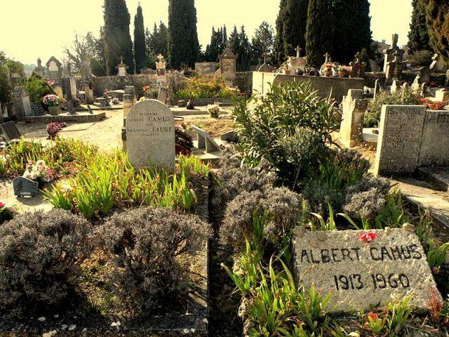 Albert Camus 1913-1960 - LOURMARIN - A la recherche d'Albert Camus et d'Henri Bosco...