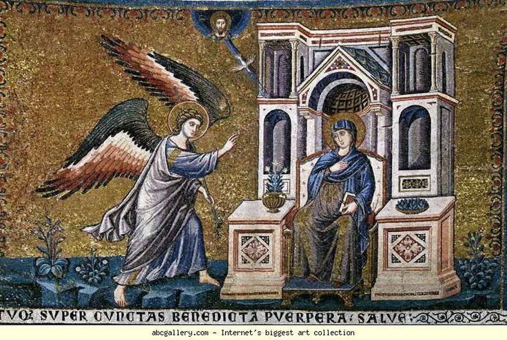 Pietro Cavallini. Annunciation.