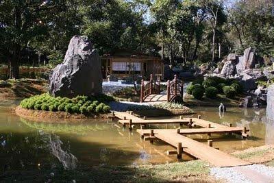Jardim estilo Japonês.