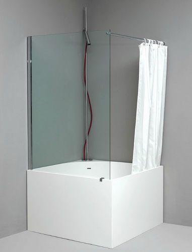 17 meilleures id es propos de baignoire carr e sur for Baignoire sabot acrylique