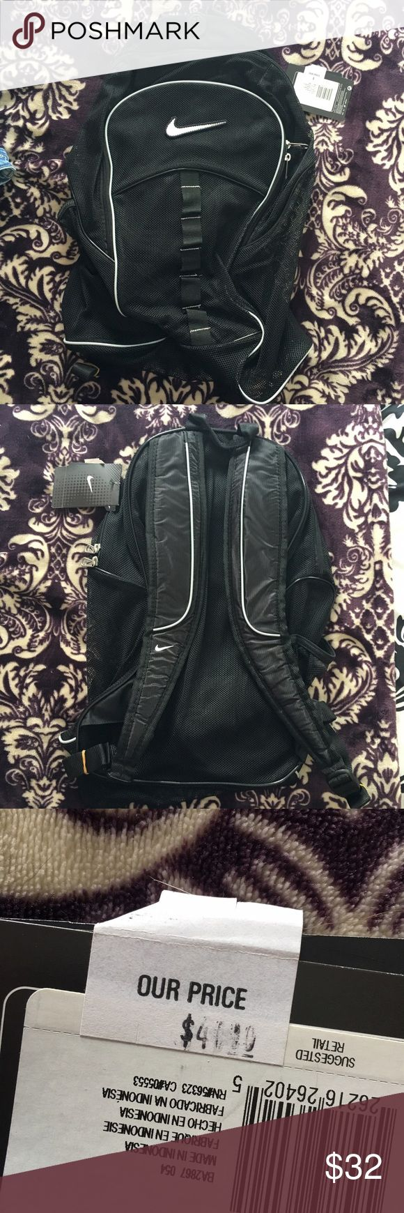 New Nike mesh backpack Brand new never used with tags! Nike Bags