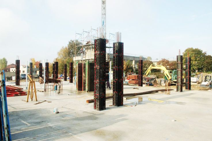 GEOTUB PANEL the #light_formwork for square and rectangular #columns made of #concrete