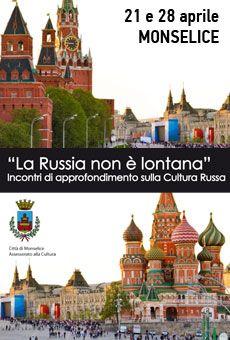 La russia non è lontana - Incontri di approfondimento sulla cultura russa. Tutti i tuoi eventi su ViaVaiNet, il portale degli eventi più consultato per il tempo libero nella provincia di Rovigo e nella Bassa Padovana