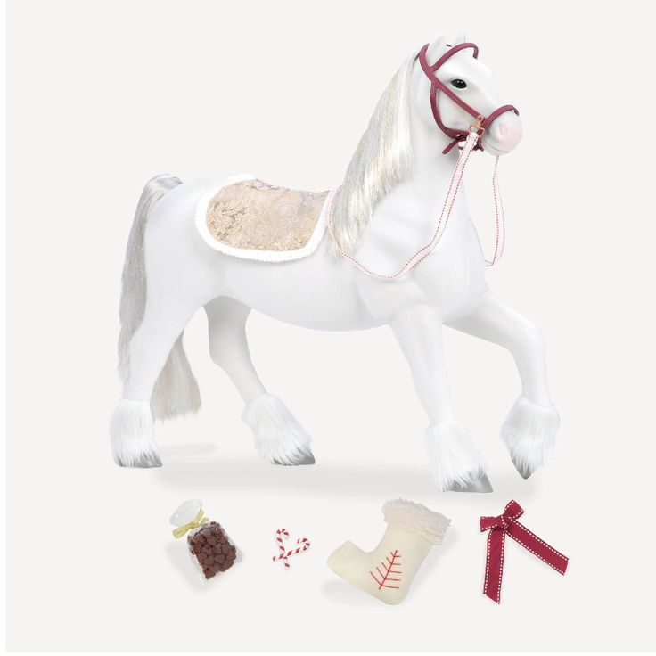 Hest til ellens dukke.