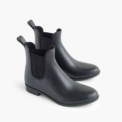 Matte Chelsea rain boots