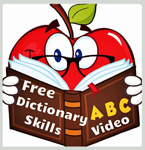 Free video lesson to teach children dictionary skills.