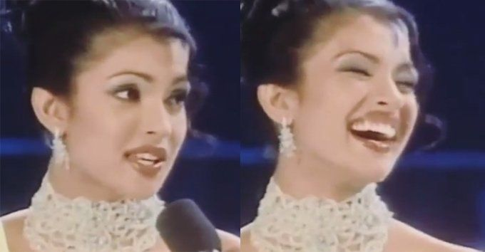 Answers Given by #PriyankaChopra In Miss World 2000