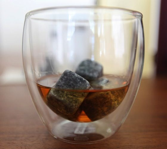 Scotch Rocks     Scotch Rocks are smooth, nonporous soapstone cubes that impart the refreshing chill of regular ice cubes – without their disappointing, watery taste or off-putting freezer smell. Best of all, you can freeze and reuse Scotch Rocks again and again