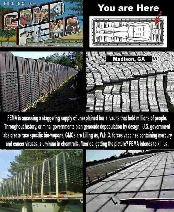 Best About FEMA CONCENTRATION CAMPS Images On Pinterest - Fema camps in the us map