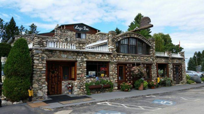 6 Legs Inn 6425 N Lake Shore Dr Cross Village Restaurant Michigan Michigan Adventures