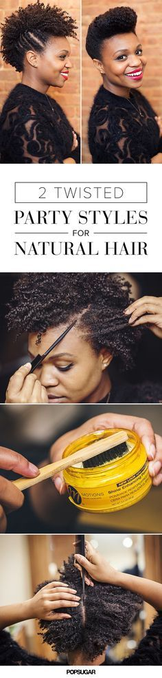 http://www.shorthaircutsforblackwomen.com/black-hair-growth-pills/ Holiday Hair Ideas That Will Make You Glad You Went Natural hairstyles updo for black women, short hair and long hair.