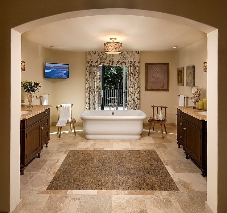 Project 32 By Giffin Mediterranean BathroomMediterranean