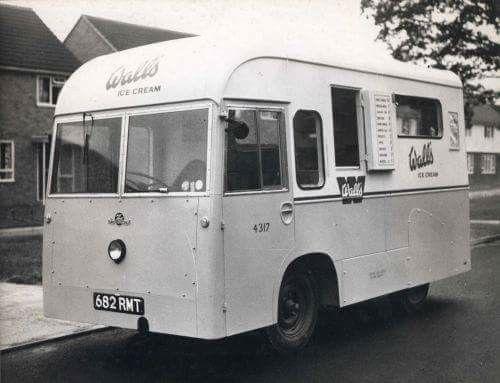 Walls Smiths Electricar Electric Ice Cream Van