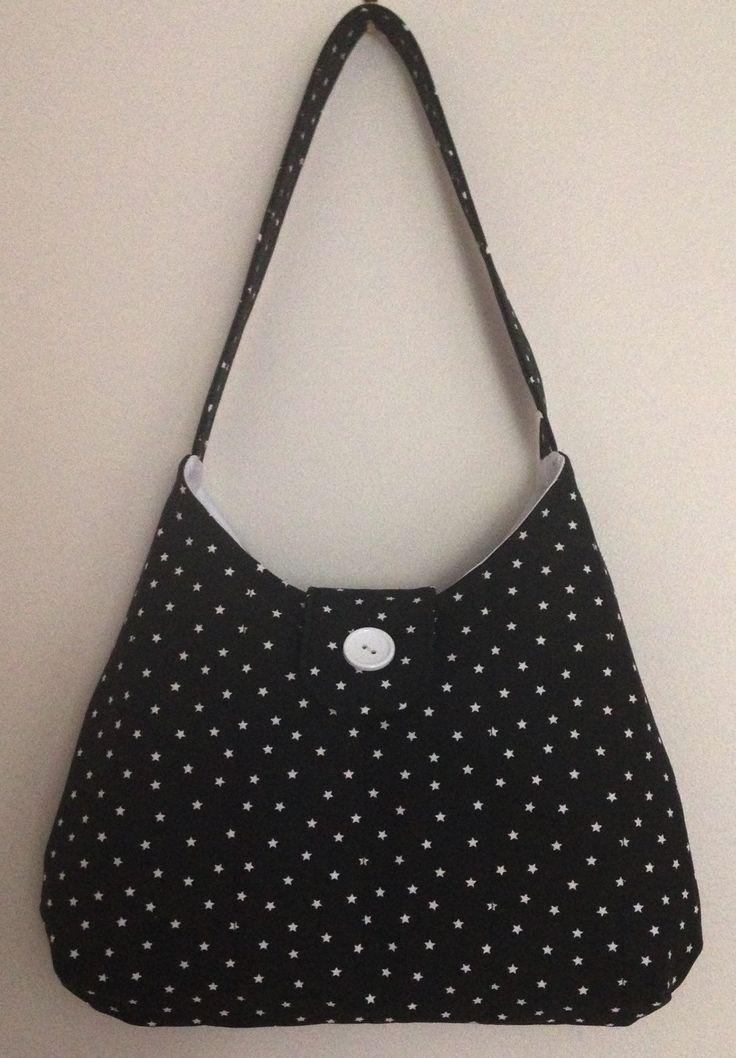 Fabric handbag, Tote, Shoulder bag, Handbag, Handmade bag, Small bag, Gift for her, Everyday bag, Boat shaped shoulder bag,Top handle bag - pinned by pin4etsy.com