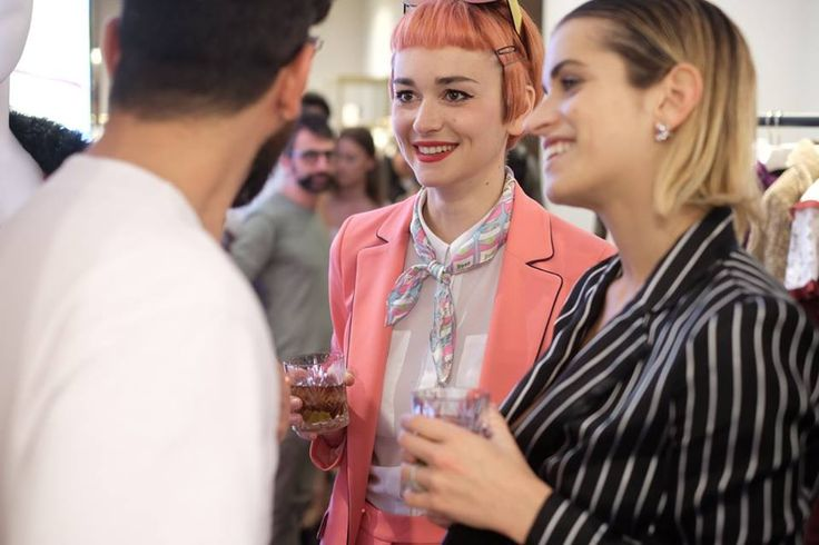 Armelola at PINKO and Coca-Cola light #GlamTaste event