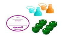 Squooshi Reusable Food Pouches - Accessory Kit  Pack - Retail Box