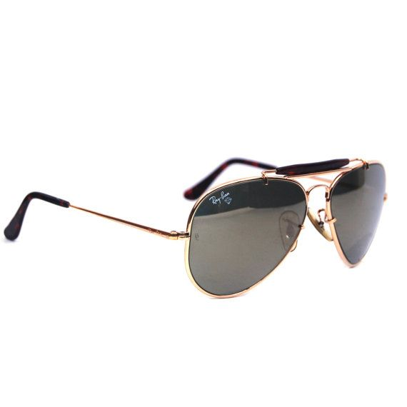 bc07c8af62c Bausch And Lomb Ray Ban Leathers Vintage