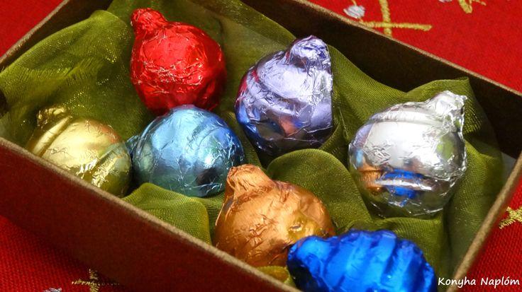 Csokoládé gömbök