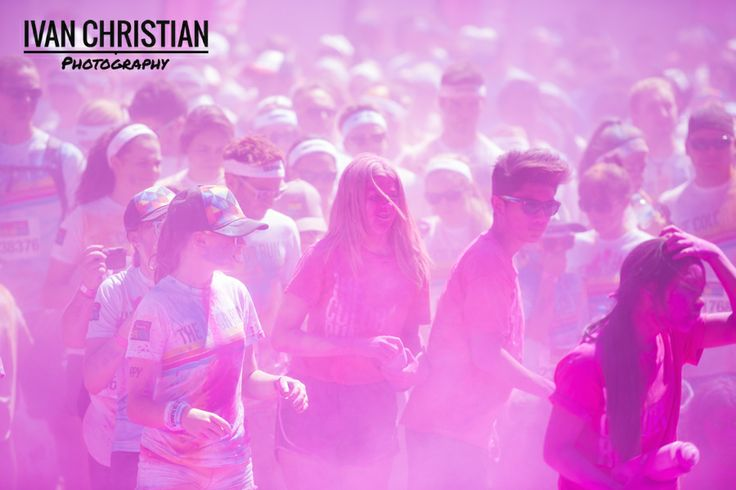 Colour Run Sydney - Purple Haze - Ivan Christian Photography