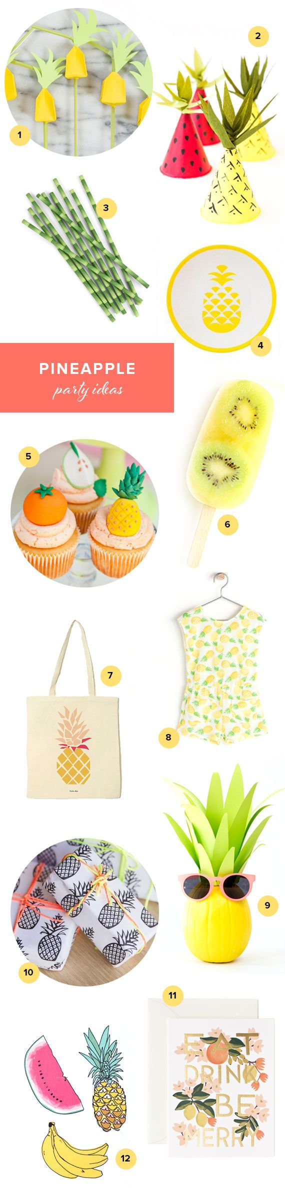 Pineapple Party Ideas | 100 Layer Cakelet