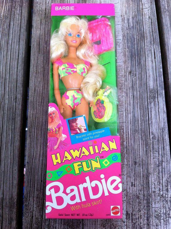 Hawaiian fun Barbie | BARBIE | Pinterest | Barbie 90s and ...