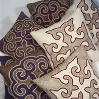 Felt cushions from kyrgyzstan