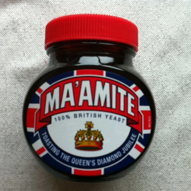 Marmite lovely with cheese on toast