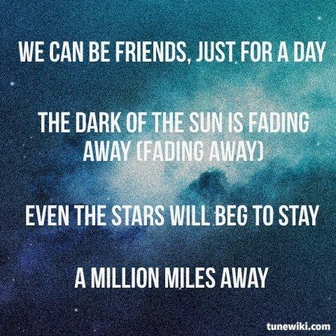 """""""We Can Be Friends,"""" by Donkeyboy. -- #LyricArt for """"We Can Be Friends"""" by Donkeyboy"""