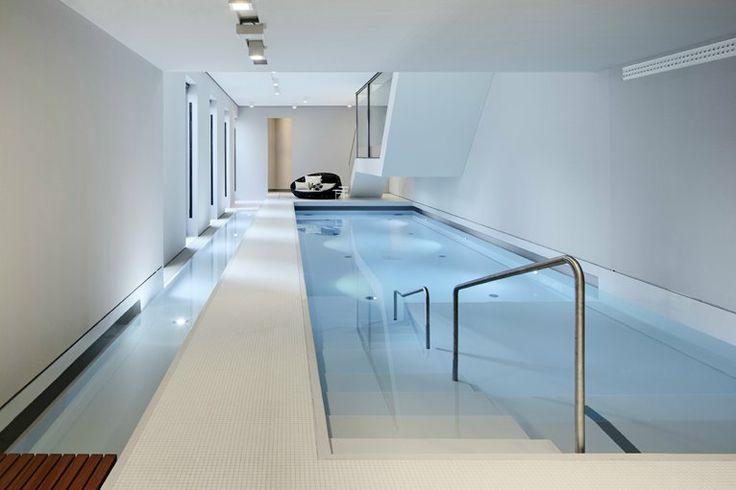47 best modern pool indoor images on pinterest - Indoor swimming pool berlin ...