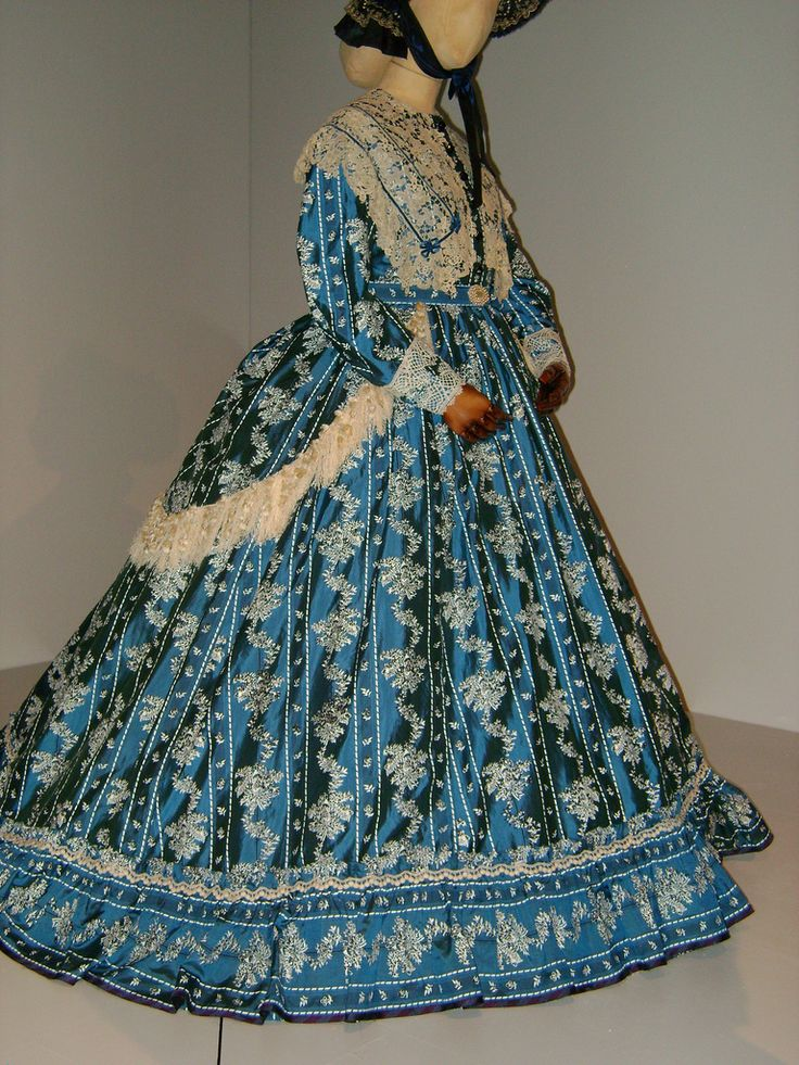 Costume designed by Joanna Johnston for Sally Field in Lincoln (2012) based on two dresses worn by Mary Todd Lincoln. FIDM 2013 Movie Exhibit