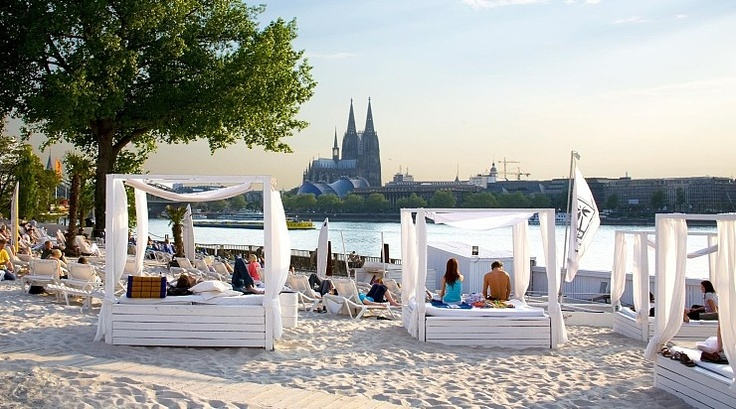Beach Club in Köln am Rhein