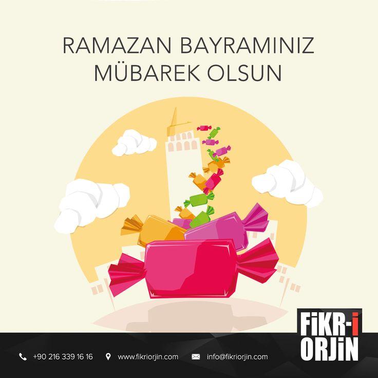 Ramazan Bayramınız Mübarek Olsun  #digital #bayram #ramazan #design #social #creative #marketing #work #office #fikriorjin