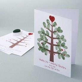 Thumbprint Christmas Cards