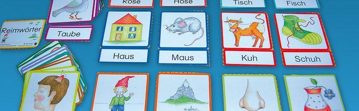 Reimwörter - Lernmaterial-Shop - BEL Montessori