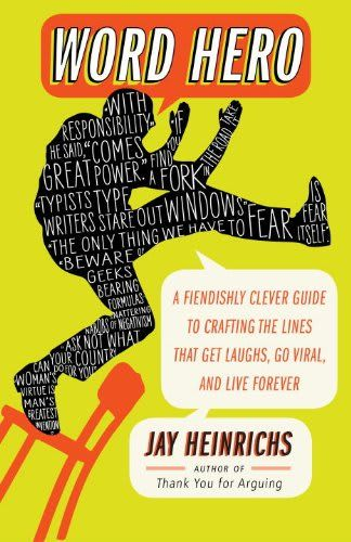Right now Word Hero by Jay Heinrichs is $1.99