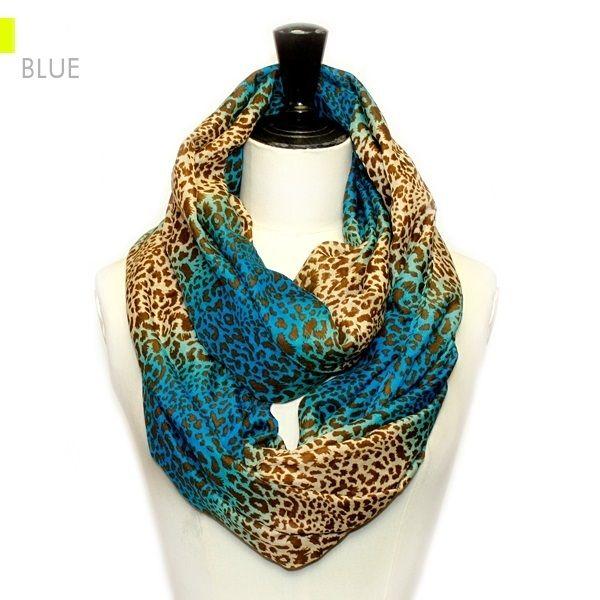 ClassyShoe.Com - Diamond Shape Print Infinity - Blue, $14.95 (http://www.classyshoe.com/diamond-shape-print-infinity-blue/)