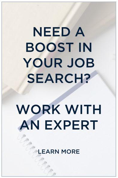 job search career coach fashion