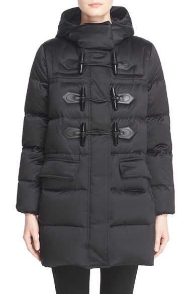 Burberry Brit 'Altberry' Toggle Front Quilted Down Parka available at #Nordstrom