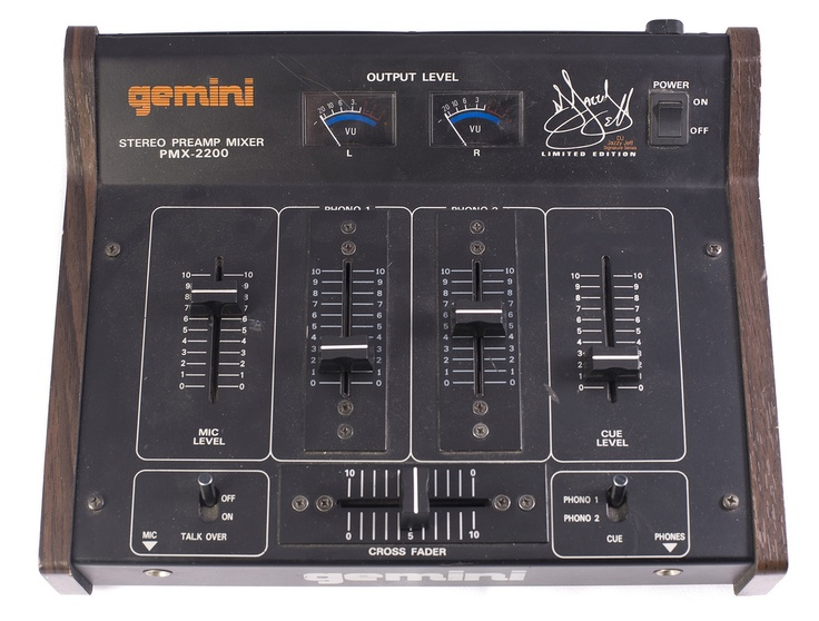 Gemini Pmx 2200 Jazzy Jeff Limited Edition Mixer Dj