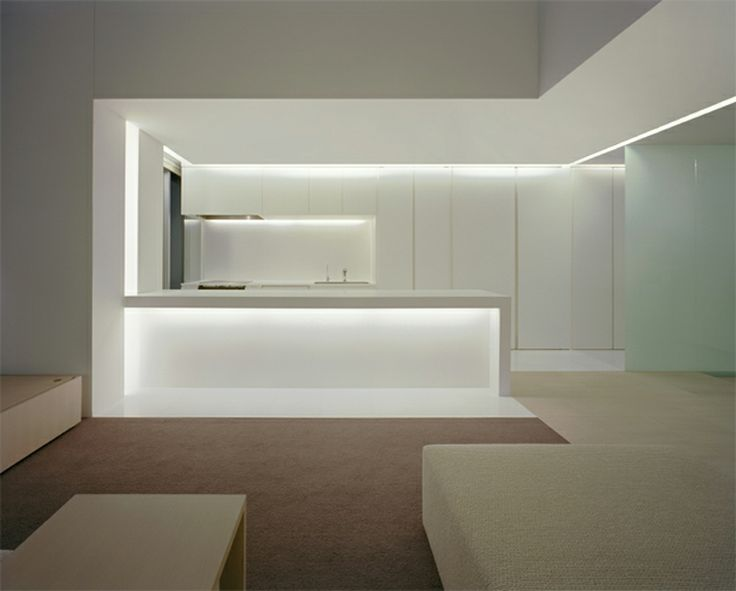 Nice recessed lighting, not a fan of the carpet | Curiosity Architects | Tokyo, Japan