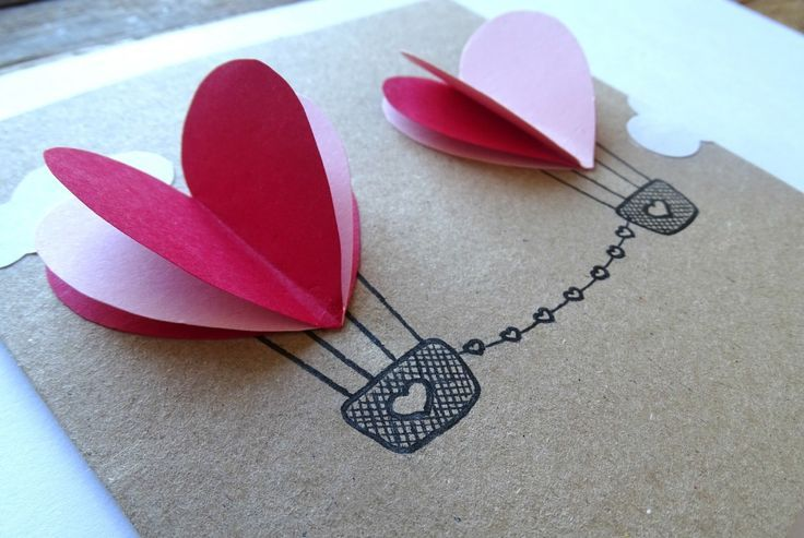 La ♥ Saint Valentin ♥ c'est (déjà) dans moins d'un mois. Voici un DIY qui vous permettra de dire je t'aime de façon créative : les montgolfières amoureuses!