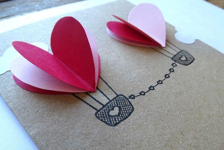 La ♥Saint Valentin ♥ c'est (déjà) dans moins d'un mois.Voici unDIY qui vous permettra de dire je t'aime de façon créative : les montgolfières amoureuses!